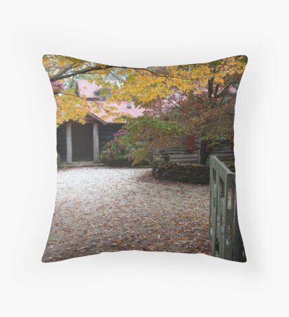 Mountain Cottage 2 Throw Pillow