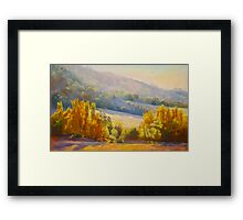 Autumn Afternoon - Trawool Framed Print