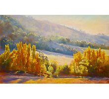 Autumn Afternoon - Trawool Photographic Print