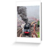 The Goathland Express Greeting Card