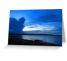 Afternoon Storm Over The Bay (Brighter) - East Arnhem Land N.T Australia Greeting Card