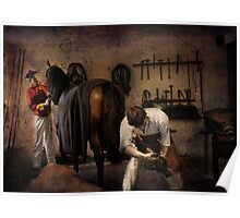 The Farrier  Poster