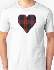 00003 Brown or Grady Clan/Family Tartan  T-Shirt