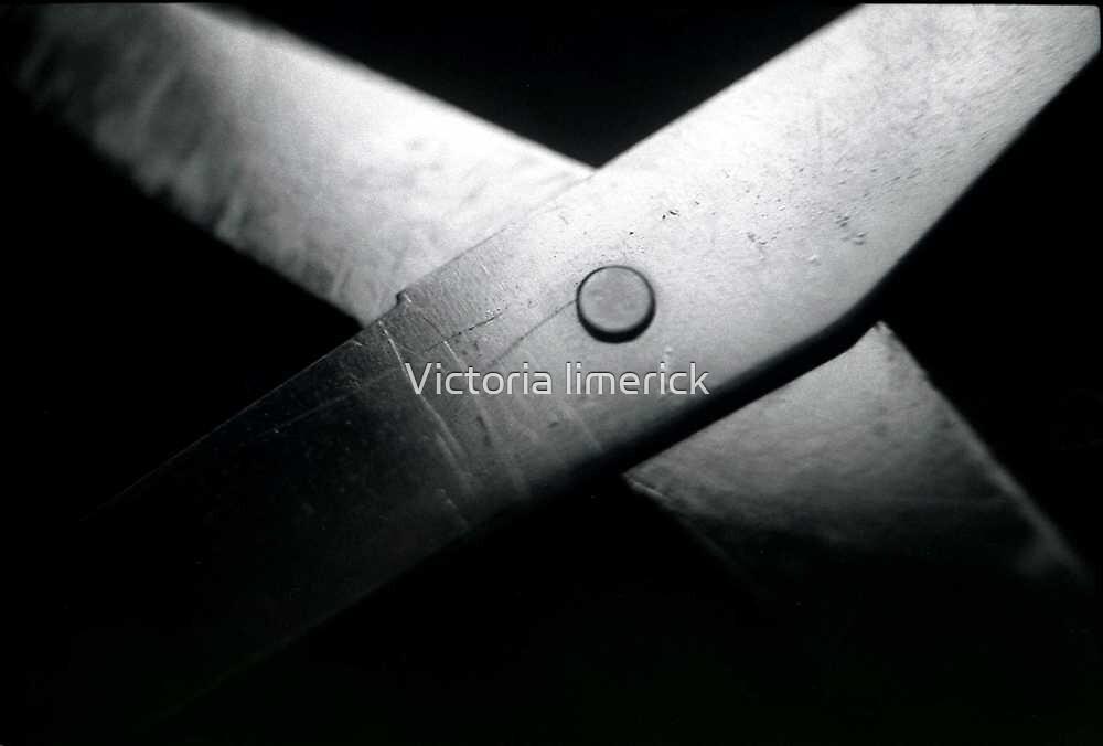Open Scissors - Still Life by Victoria limerick