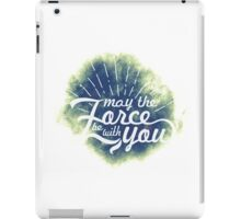 May the Force be with you (8) iPad Case/Skin