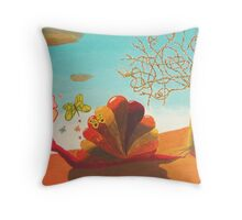 La primavera Throw Pillow