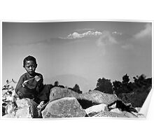 himalayan child Poster