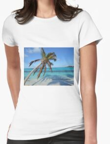 Anguilla Palm Tree and Ocean T-Shirt