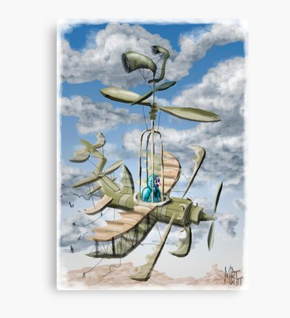 Air Support :Forces of Whimsy Canvas Print