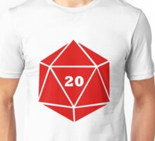 Critical Hit (d20) Unisex T-Shirt