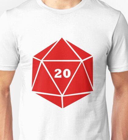 Critical Hit (d20) Unisex T-Shirt