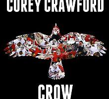 Corey Crawford, Crow by coach-qs-stache