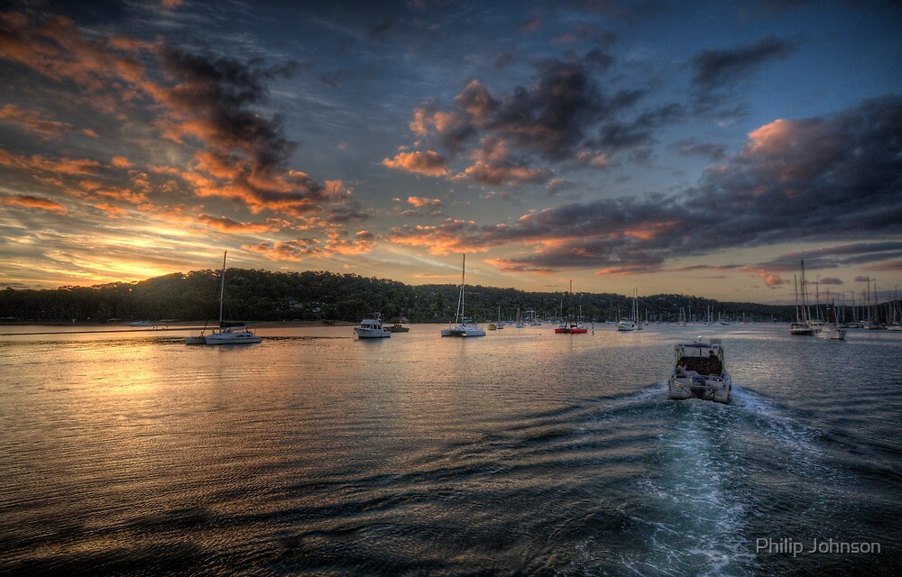 Last Light - Newport, Sydney - The HDR Experience by Philip Johnson