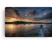 Last Light - Newport, Sydney - The HDR Experience Canvas Print