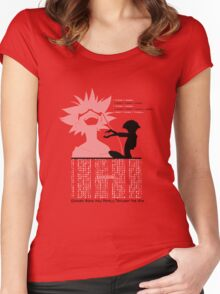Ed - Cowboy Bebop Women's Fitted Scoop T-Shirt