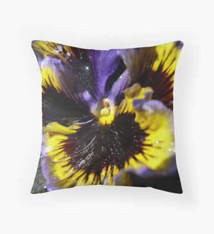 If my Yoni could talk Throw Pillow