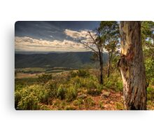 Into The Valley - Somewhere on The Great Ocean Road - The HDR Experience Canvas Print