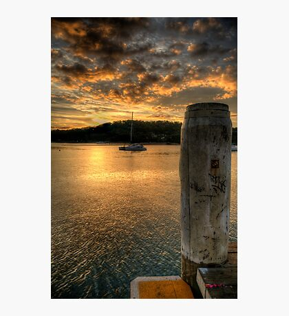 Dock In The Bay - Newport,Sydney - The HDR Experience Photographic Print