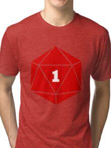 Critical Fail (d20) Tri-blend T-Shirt