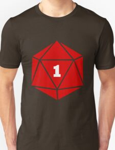 Critical Fail (d20) Unisex T-Shirt