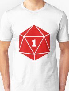 Critical Fail (d20) Unisex T-Shirt