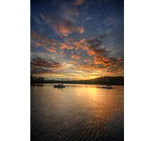 A Moment In Time - Newport, Sydney - The HDR Experience Photographic Print