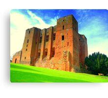 History Alight - Kenelworth Castle Canvas Print