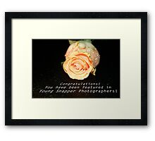 Learning to Bloom:  Feature Banner Framed Print