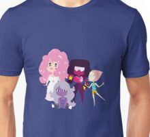 Rose and the Crystal Gems Unisex T-Shirt