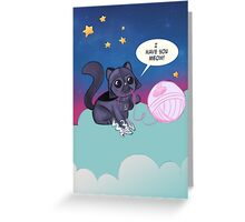 Darth Kitty    Greeting Card