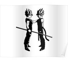 Goku x Baddack - Dragon Ball Poster