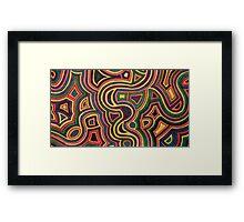 Funky Framed Print