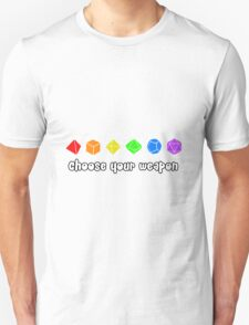 Choose your Weapon (Rainbow) T-Shirt