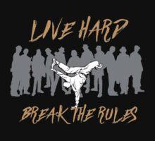 Break Dancing - Break The Rules Kids Tee