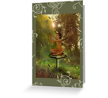 Fairy card 2 Greeting Card