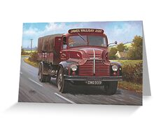 Leyland Comet 1949 Greeting Card