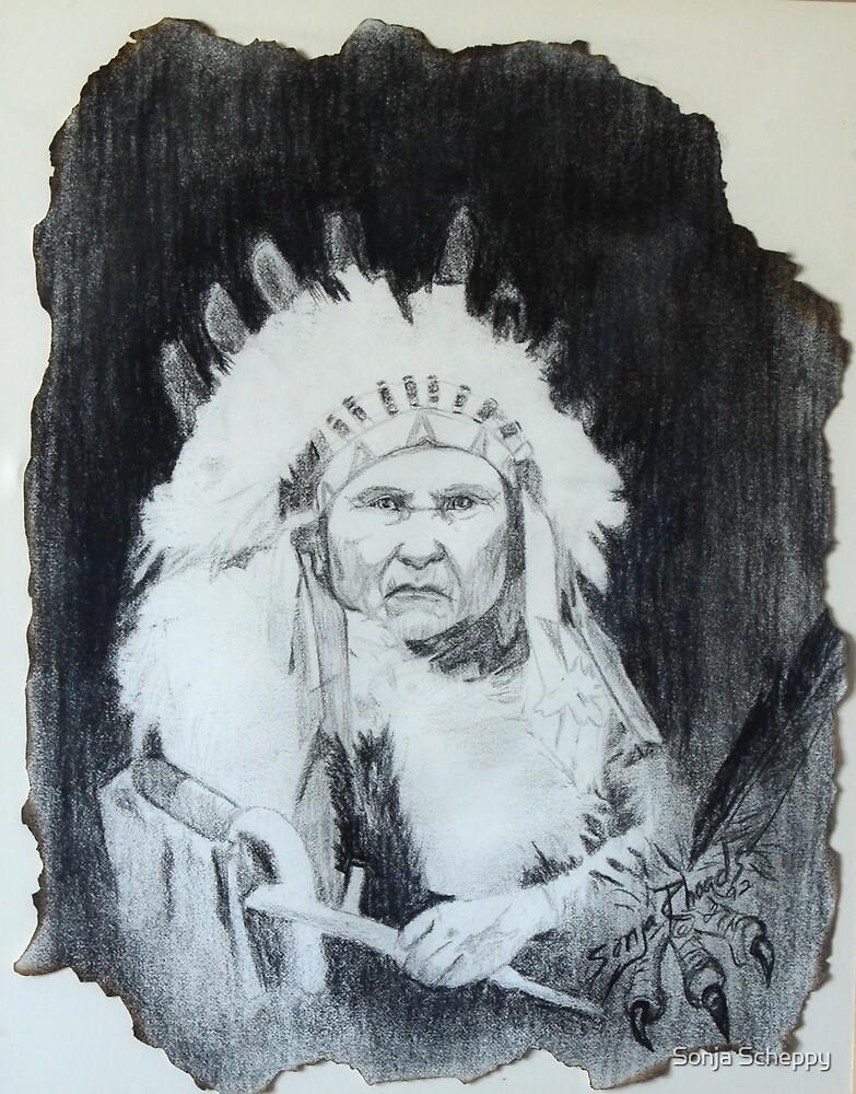 Indian Chief by Sonja Scheppy