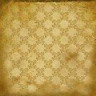 Grunge Gold Glitter Pattern by Cherie Balowski