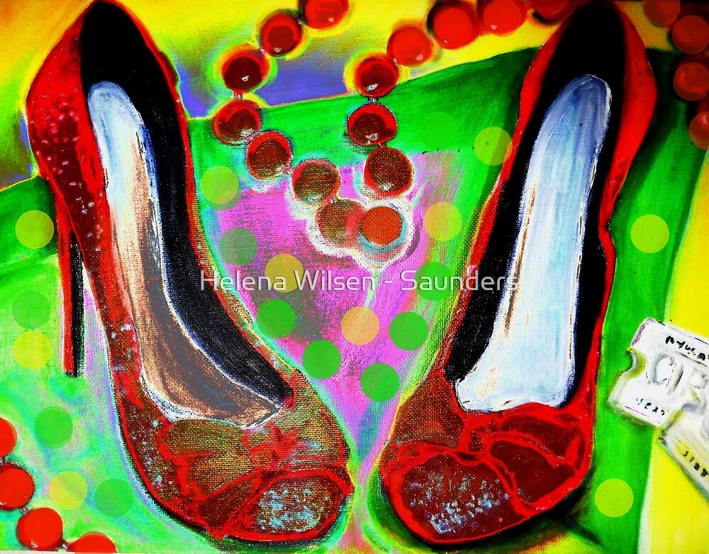 Red Shoes In by Helena Wilsen - Saunders