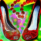 Red Shoes In by Helena Wilsen - Saunders