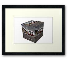 Box the Bus ride Framed Print