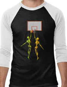 Skeleton basketball  Men's Baseball ¾ T-Shirt
