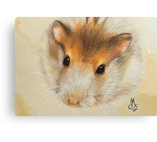 Bubba the Hamster Canvas Print