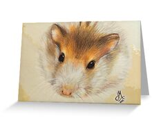 Bubba the Hamster Greeting Card