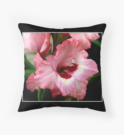 Gladiolas #1 Throw Pillow