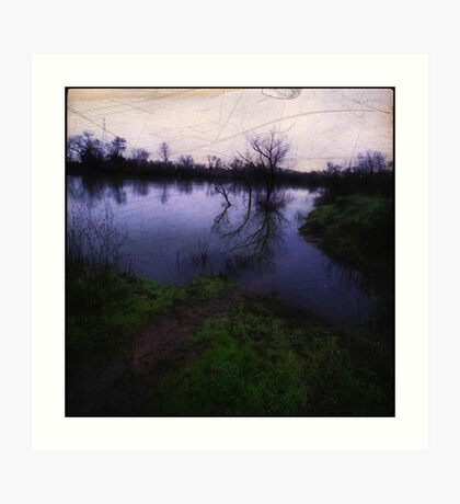 Water In The Valley Art Print