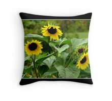 Sunflowers #1 Throw Pillow