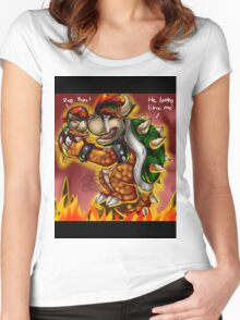 Bowser and Jr Women's Fitted Scoop T-Shirt