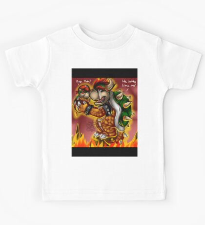 Bowser and Jr Kids Tee