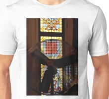 Stained Glass Fan-tasy Unisex T-Shirt